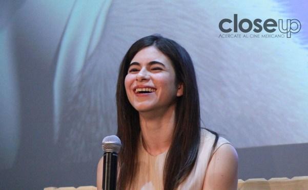 """Sofía Espinosa fue la protagonista del corto """"Ver llover"""" de Elisa Miller, ganador en Canes (Foto: Itzuri Sánchez Chávez)"""