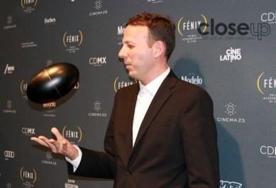 Amat Escalante ganó como Mejor director (Foto : Itzuri Sánchez Chávez)