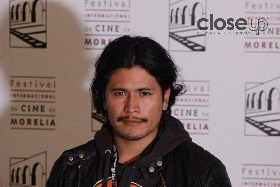 Harold Torres apoya el cine independiente (Foto: Itzuri Sánchez Chávez)