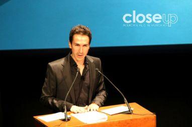 El evento fue conducido por el actor Andrés Montiel (Foto: Itzuri Sánchez)
