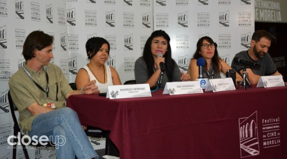 El largometraje dirigido por Dariela Ludlow forma parte de la competencia del FICM (Foto: Amelia Rojas)