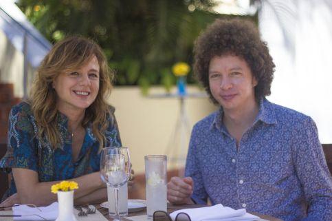 Emma Suárez y Michel Franco (Foto: Cortesía Yael Plasencia)