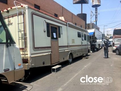 Durante tres semanas de rodaje en México tomaron forma las escenas sobre el ring. Foto: Ariel Figueroa