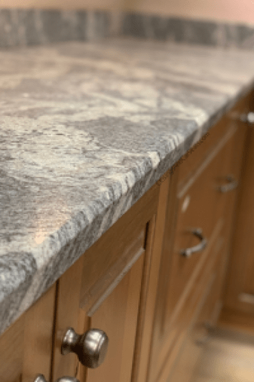 leathered granite bevel edge