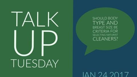 Talk up Tuesday Jan 24 2017