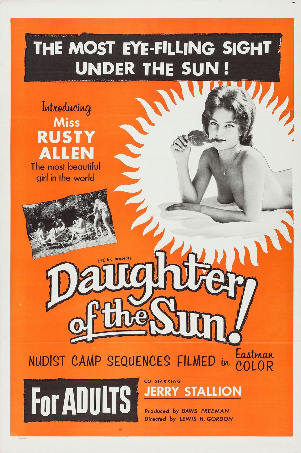 """Poster for the movie """"Daughter of the Sun"""""""
