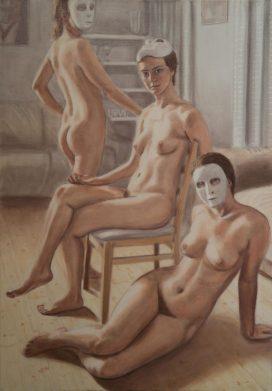 Untitled, 70cm x 100cm, oil on linen