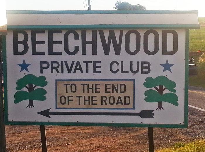 Beechwood sign