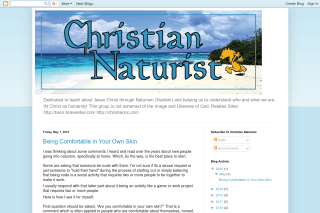 christian naturist