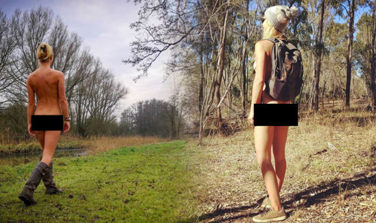 Woman travels the world posting NAKED Instagram pictures for this surprising reason (via Express.co.uk)