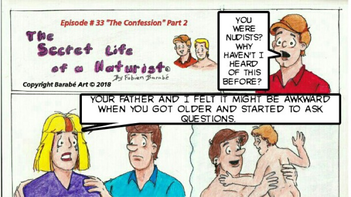 the secret life of a naturist #33 the confession part 2