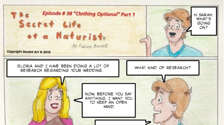 the secret life of a naturist #38 clothing optional