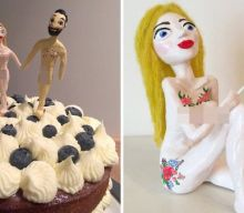 You can buy a naked bride and groom as wedding cake toppers (via metro.co.uk)