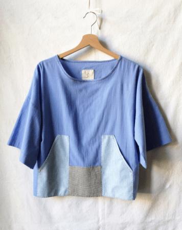 Theia Cotton Blouse