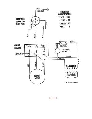 Figure 423 Wiring diagram for water heater