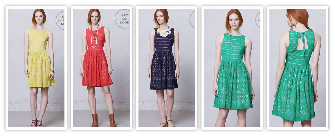 Eyelet Dress Collection Cute Summer Dresses 2013