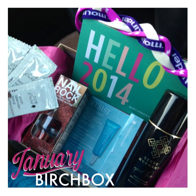 Birchbox unboxing January 2014