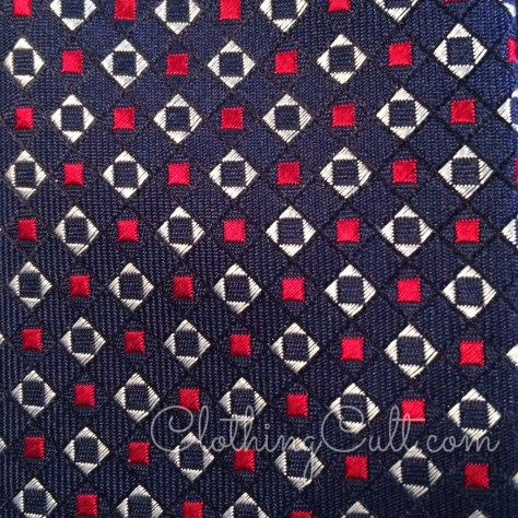 Dapperbox Review summer 2015 - closeup of the tie pattern -  coupon code available at ClothingCult.com