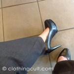 black Simply Vera by Vera Wang heels