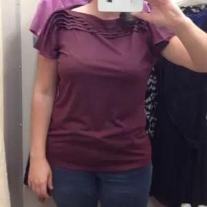 burgundy shirt talbot's