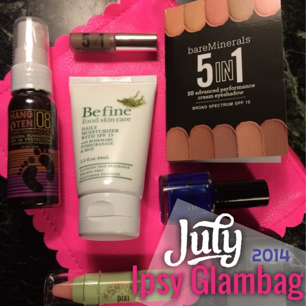 Ipsy glambag July 2014