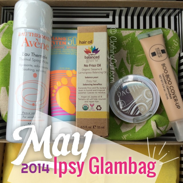 Ipsy glambag May 2014
