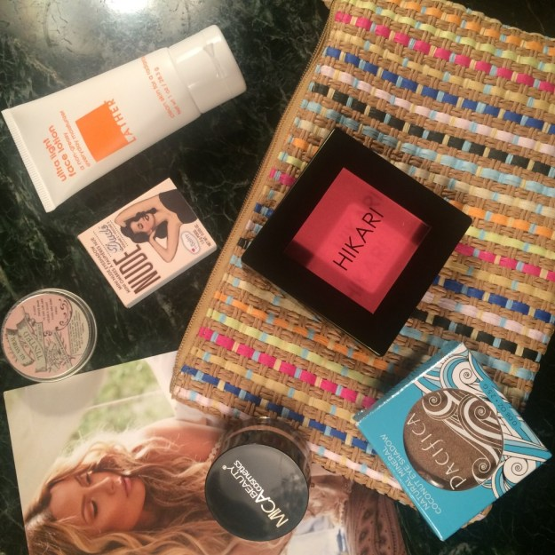 My Ipsy Glambag April 2015 - and EWG scores