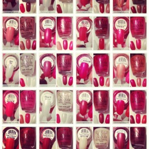 Opi Nail Polishes swatched