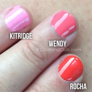 Zoya Rocha, Wendy & Kitridge swatches shot light background - via ClothingCult.com
