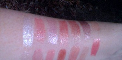 Burt's Bees VS. Wet N Wild Natural Blend LIP SHIMMERS
