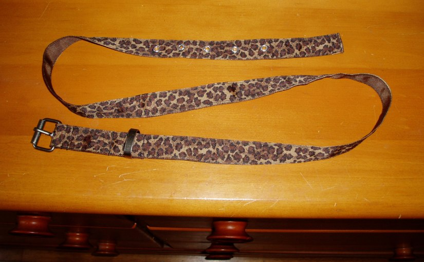 DIY Ribbon belt – a little more complex…