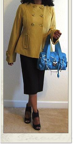 Loving Mustard and a link to a Budget Fashion Blog