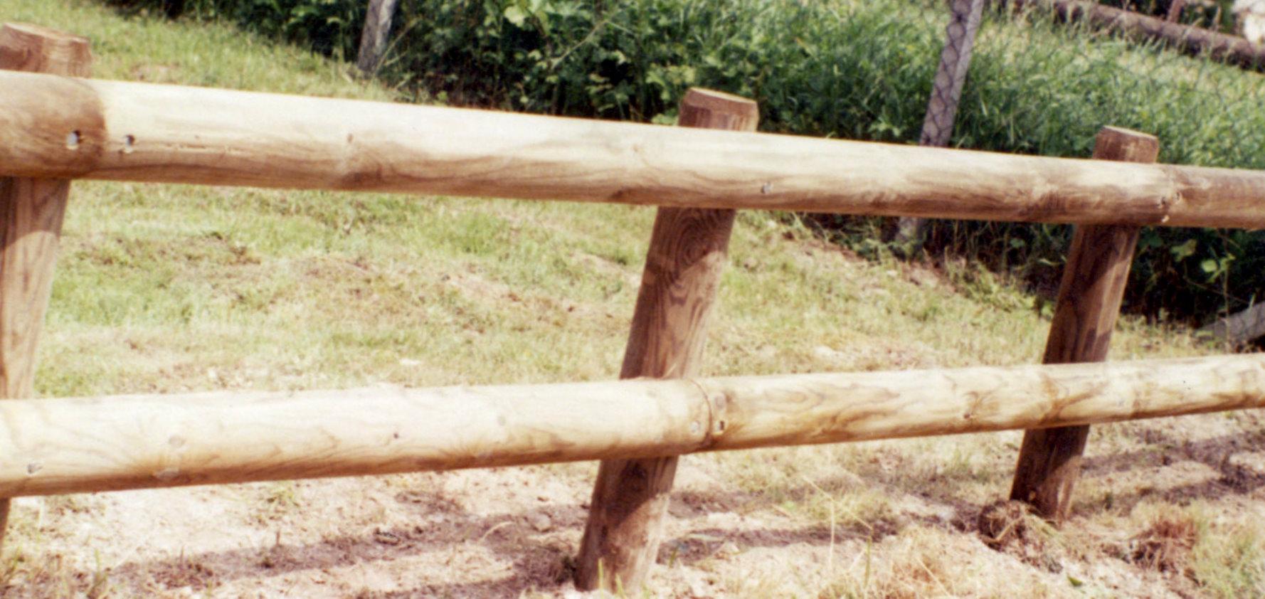 Rondin En Bois Naturel Pour Clture Autoclave