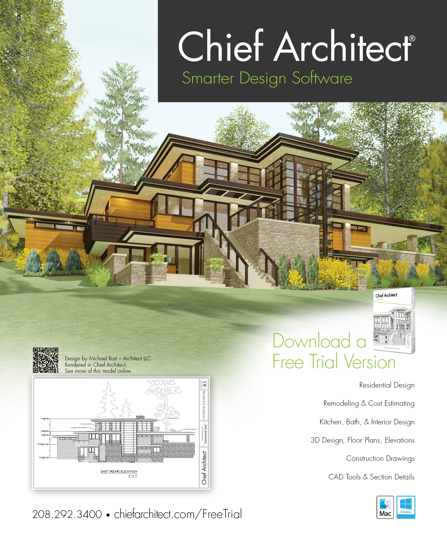 Best Kitchen Gallery: Chief Architect Home Design Software Ad of Home Design  Trial  on rachelxblog.com