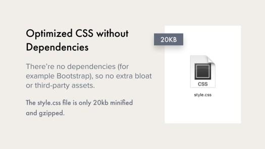 Optimized CSS