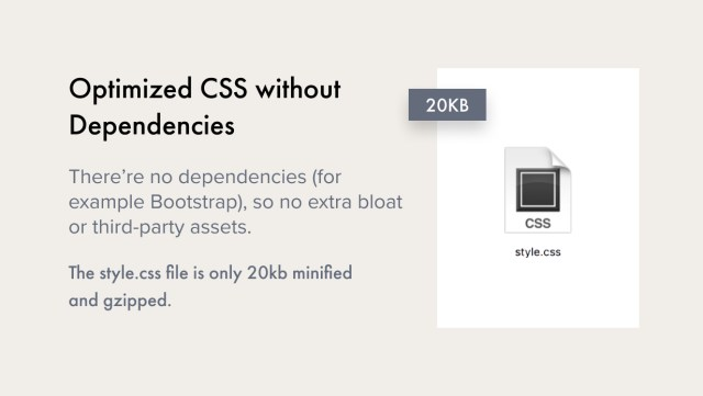 Optimized CSS