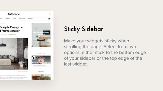Sticky Sidebar