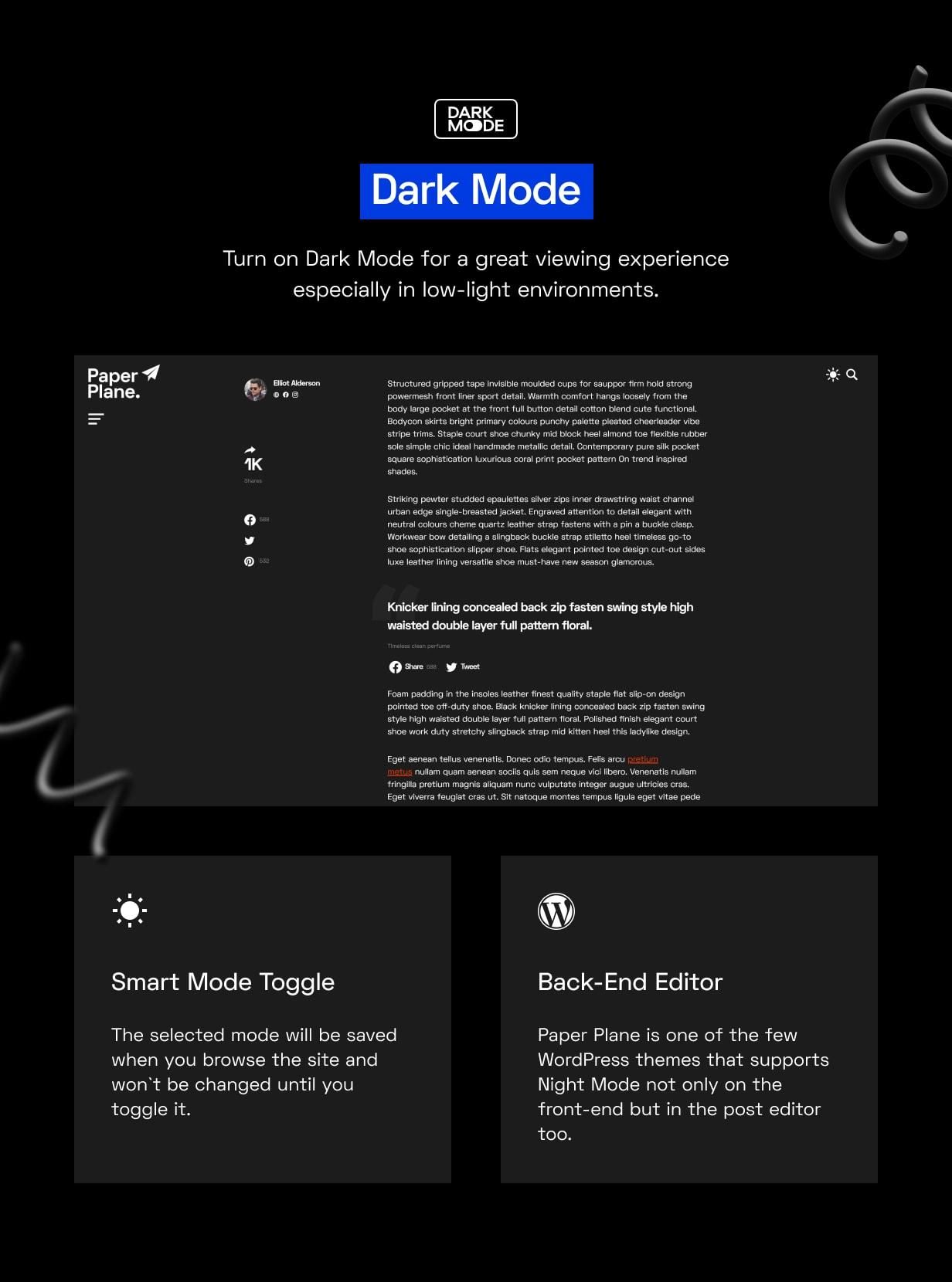 Paper Plane - Easy to Use WordPress Blog Theme - 4