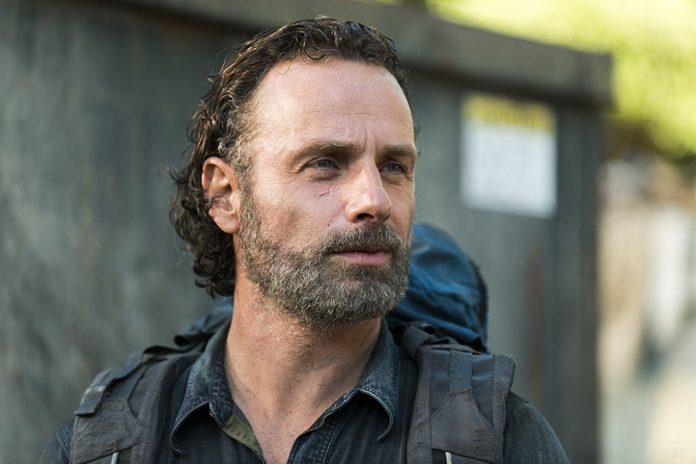 andrew The Walking Dead   Andrew Lincoln deixará o elenco da série na 9ª temporada