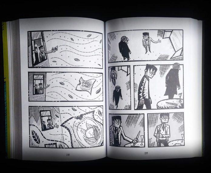 arte-andre-diniz-o-idiota-1024x843 Resenha | O Idiota, versão Graphic Novel