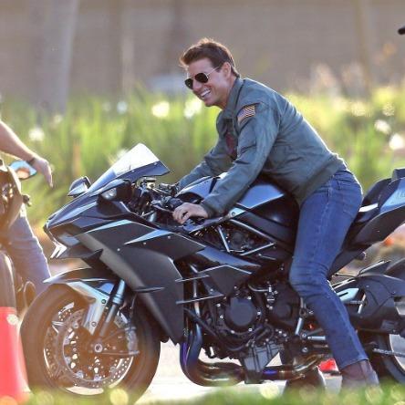maverick2 Top Gun: Maverick | Liberada novas fotos do set de filmagem. Confira!