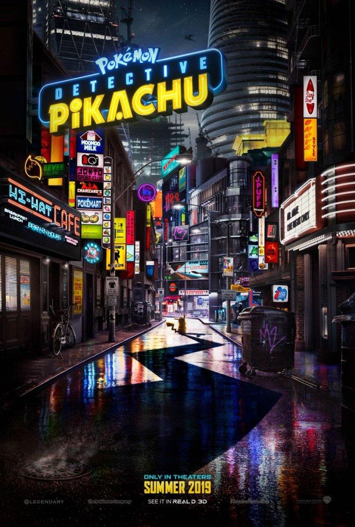 Dr0aO-eU4AAMLY2 Pokémon: Detetive Pikachu   Liberados trailer e cartaz espetaculares. Confira!