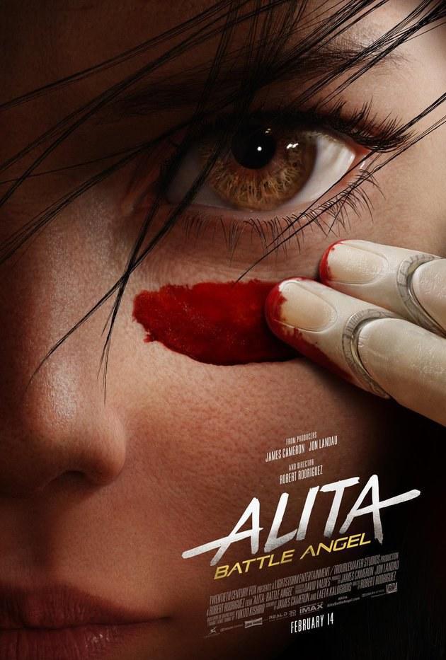 alita Alita: Anjo de Combate | Filme de James Cameron ganha novo trailer! Vem ver!