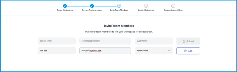 invite team members contentstudio
