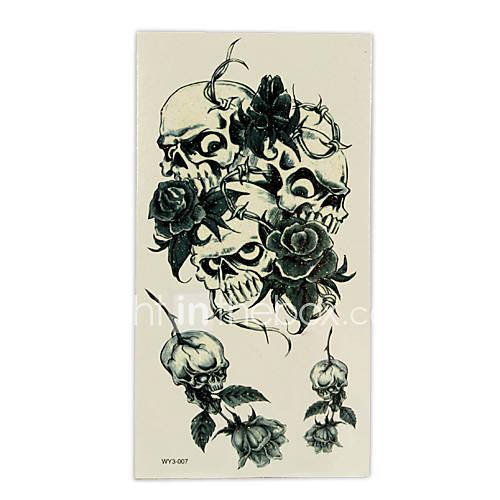 Beautiful Rose Temporary Tattoos One Sheet(TYWS0025) .