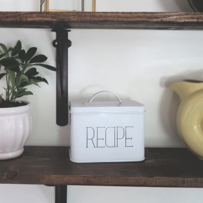 Farmhouse Recipe Box
