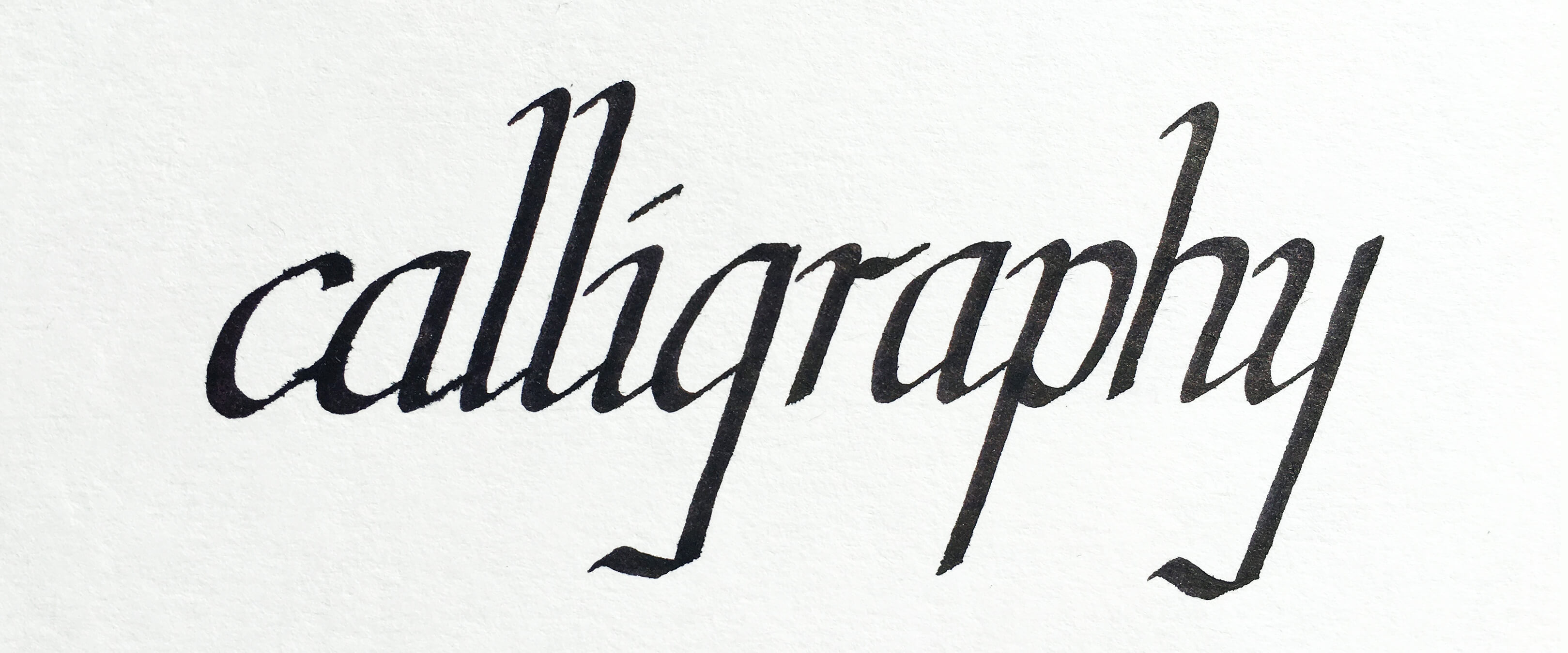 Calligraphy Art Getting Started And Lessons Learned