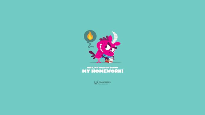 My Dragon Burnt My Homework!