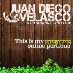 Juan Diego Velasco Freelance Designer