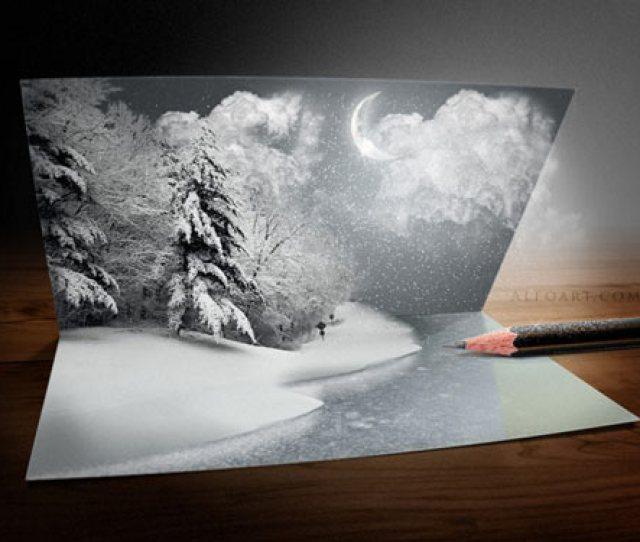 Winter Season Photoshop Manipulation Tutorial